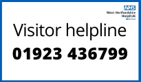 Picture showing the visitor helpline phone number which is 01923 436799