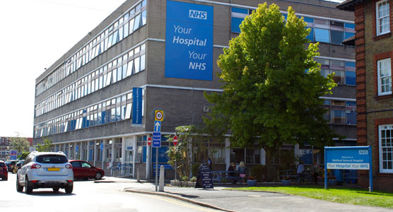 Picture of Watford General hospital